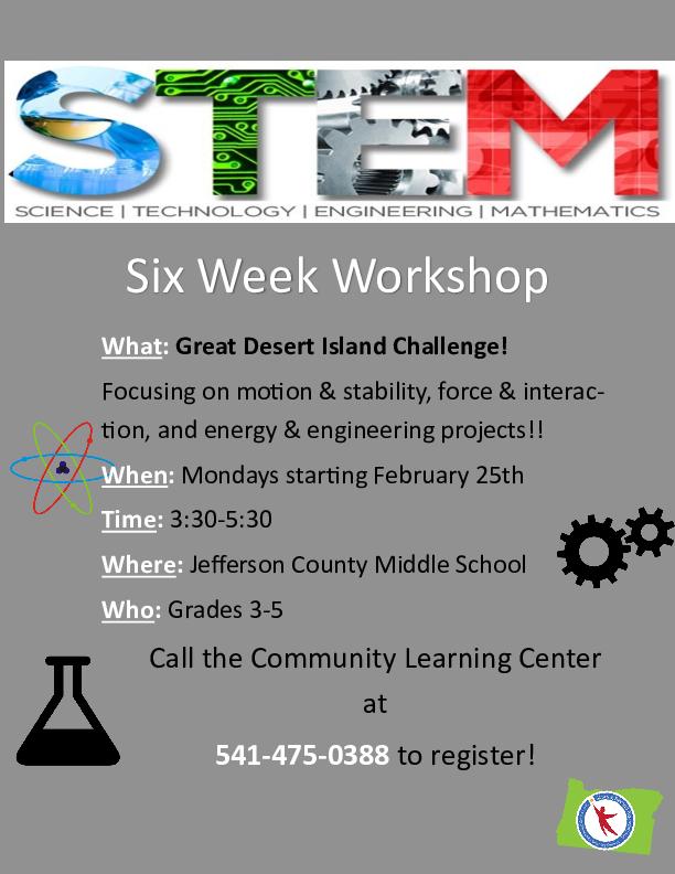 Six Week STEM Workshop